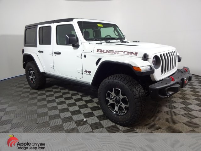 New 2019 Jeep Wrangler Unlimited Rubicon With Navigation 4wd