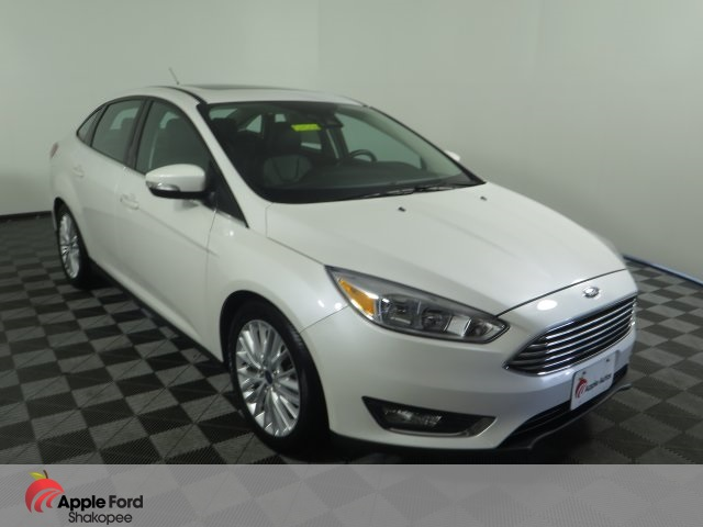 Pre Owned 2016 Ford Focus Titanium Fwd 4d Sedan