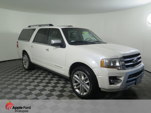 Ford Expedition El >> Pre Owned 2015 Ford Expedition El Platinum With Navigation 4wd