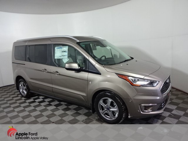 Ford Transit Connect >> New 2019 Ford Transit Connect Titanium Passenger Van In Apple Valley