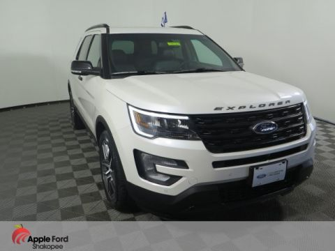 Certified Pre-Owned 2017 Ford Explorer Sport